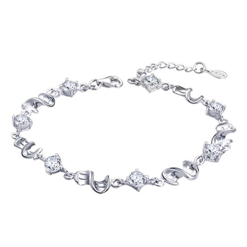 italian new zealand chain bracelet silver silvermoon