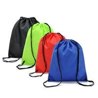 0U0W-1PC Nylon Drawstring Sport Beach Travel Outdoor Backpack Bags Good Products