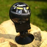 1GZx-Suction Black Mini Car Dashboard Boat Truck Pocket Compass Ball