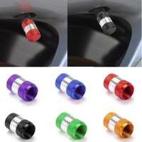 1UJe-4Pcs US Size Aluminum Alloy Car Motorcycle Wheel Tire Valve Stem Cap Dust Cover