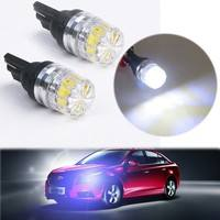 1VgU-2Pcs T10 5050 5 SMD White LED Car Vehicle Side Tail Lights Bulbs Lamp