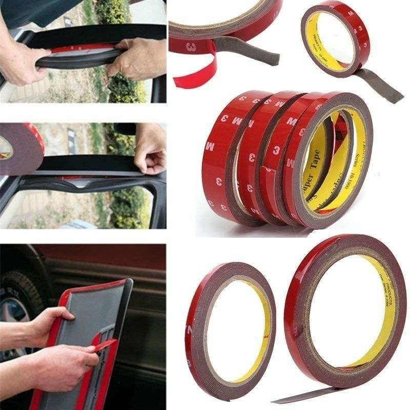3m car sticker auto adhesive tape vehicle double sides sticker