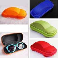 1lBz-Kids Car Shaped Zipper Sun Glasses Eyeglasses Protector Eye Hard Case Box Holder