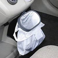 1v7E-Car Rubbish Bag Plastic Clip Vehicle Garbage Bags Frame Pasted Trash Holder