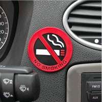 1yza-Rubber NO SMOKING Sign Warning Logo Car Taxi Door Decal Badge Sticker