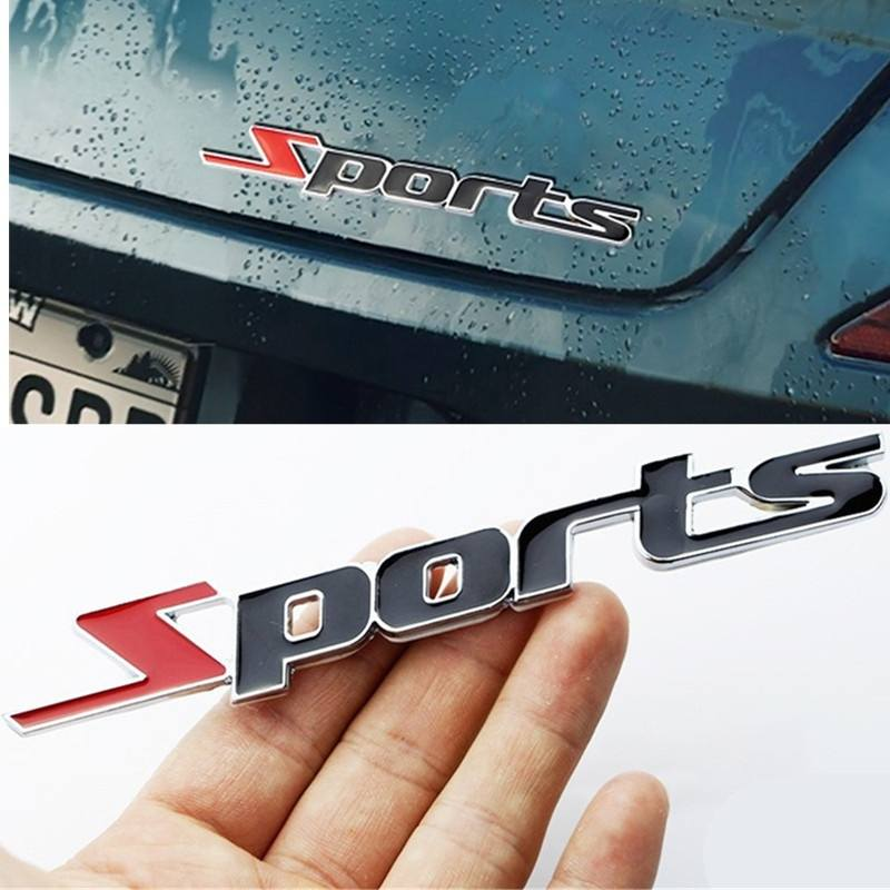High Quality Sports Car Styling Car Stickers And 3D Car Sticker Car Decor Stickers