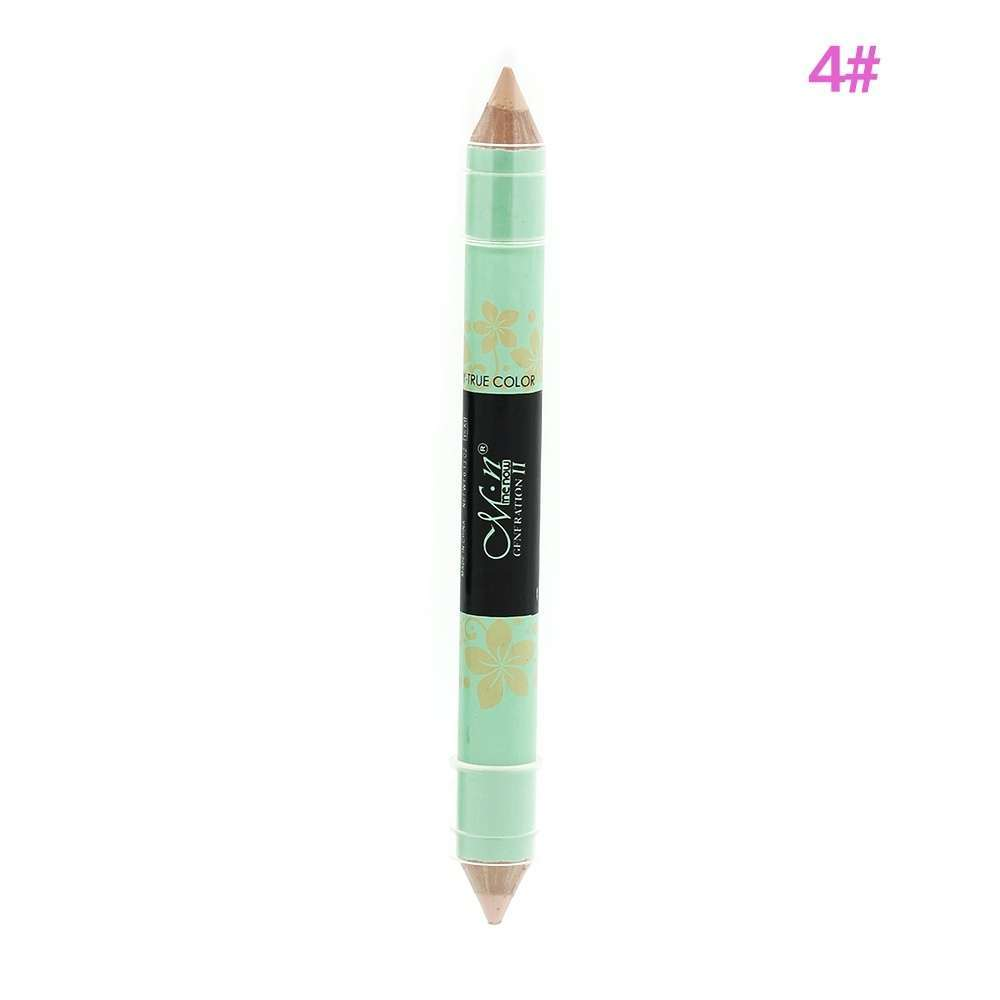 New Highlighter Long Lasting Makeup Double-end Blemish Cream Concealer Pen Pencil-5