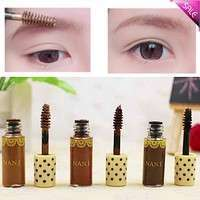 BslZ-Hot Long Lasting Makeup Eyebrow Tinted Gel Tame Brown Mascara Pencil Brush DIY Tools