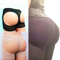 CBk2-LOVER BEAUTY Sexy Women Sharpers Panty Slim Boy Short Underwear Booty Lifters Butt Enhancer Shorts Pants Trainers Butt Lifters
