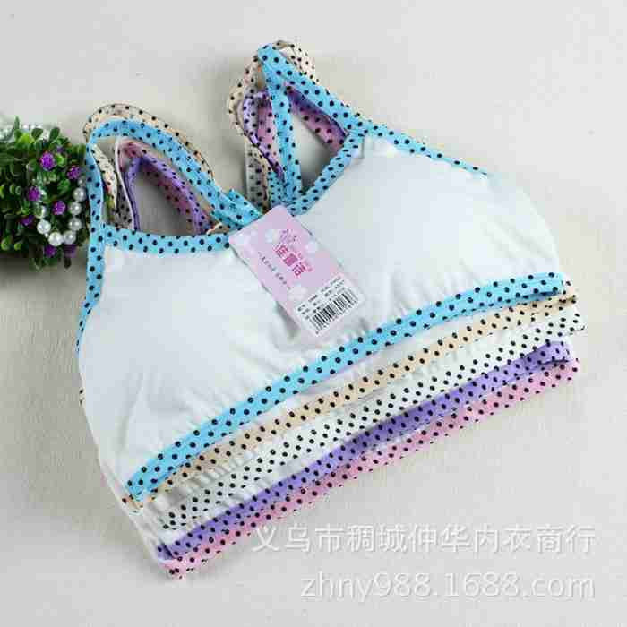 New Prop Ventilation Thin section Bras Girls underwear Y type strap