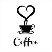 DCUF-Coffee Restaurant Wall Decor Home Decorations Removable Vinyl Wall Art  Sticker