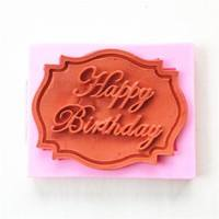 DcT0-Lovely Happy Birthday Silicone Mould Cake Decorating Lace Mat Baking Mold