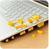 E4SX-13 Pcs Universal Silicone USB HDMI Port Anti Dust Plug Cover For Laptop Notebook