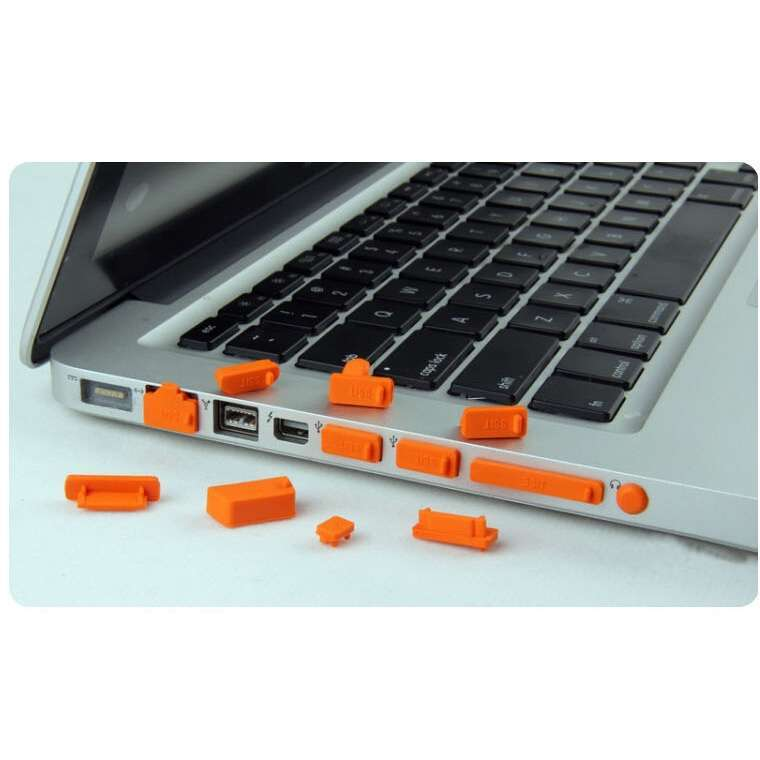 13 Pcs Universal Silicone USB HDMI Port Anti Dust Plug Cover For Laptop Notebook-10