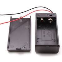 EJxu-9v Battery Holder With ON-OFF Switch 9 Volt Box Pack Power