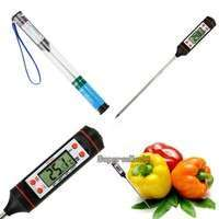 Egvw-Professional Meat Thermometer Kitchen Digital Cooking Food Probe Electronic BBQ