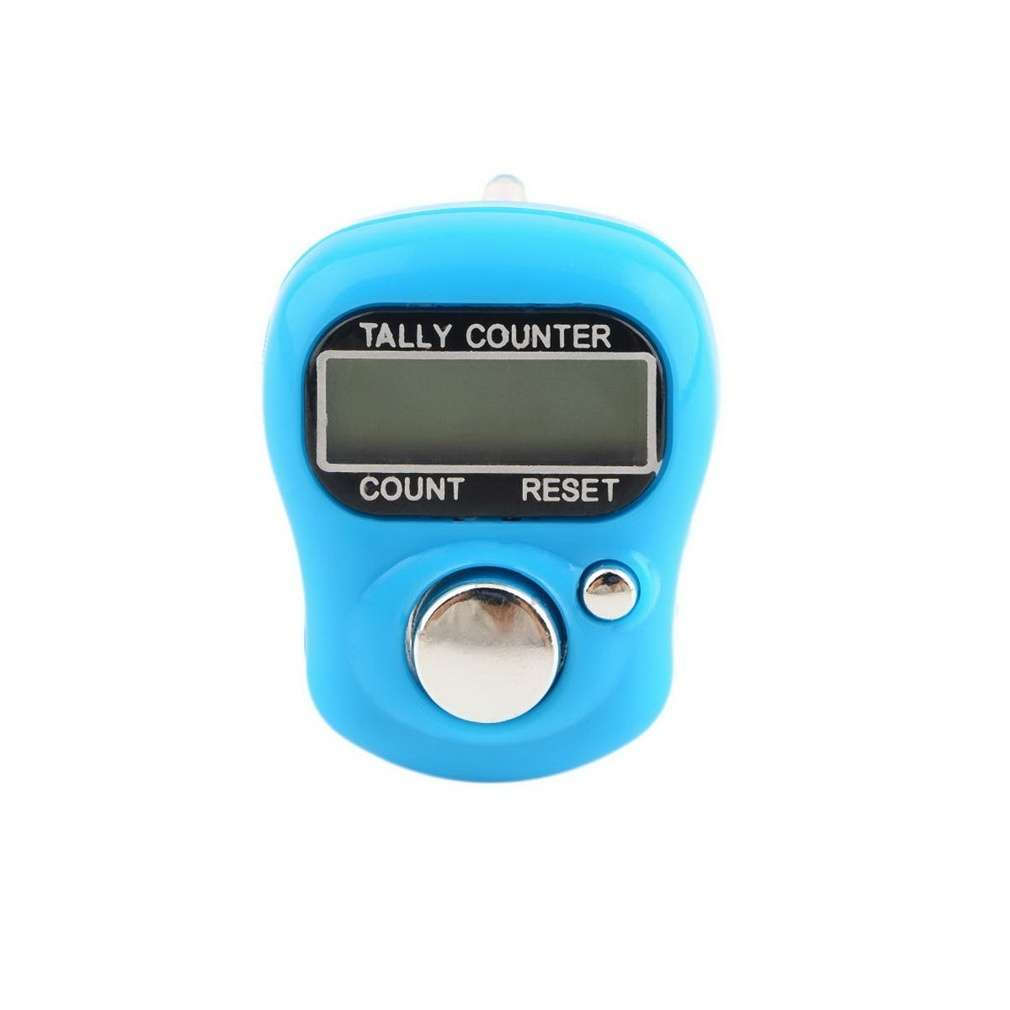 Stitch Marker And Row Finger Counter LCD Electronic Digital Tally Counter-3