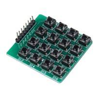 EwSy-4x4 Matrix 16 Keypad Keyboard Module 16 Button Mcu For Arduino