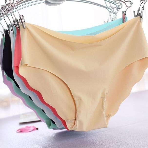 Women Invisible Underwear Thong Cotton Women Soft Spandex Gas Seamless Crotch With high Quality