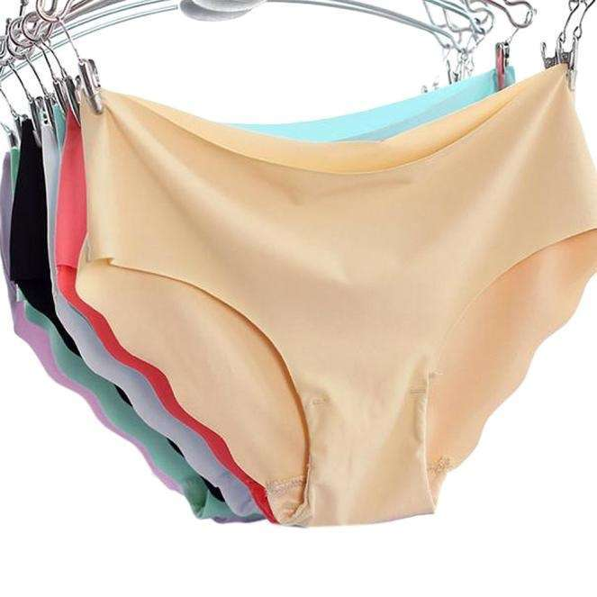 Women Invisible Underwear Thong Cotton Women Soft Spandex Gas Seamless Crotch With high Quality-9