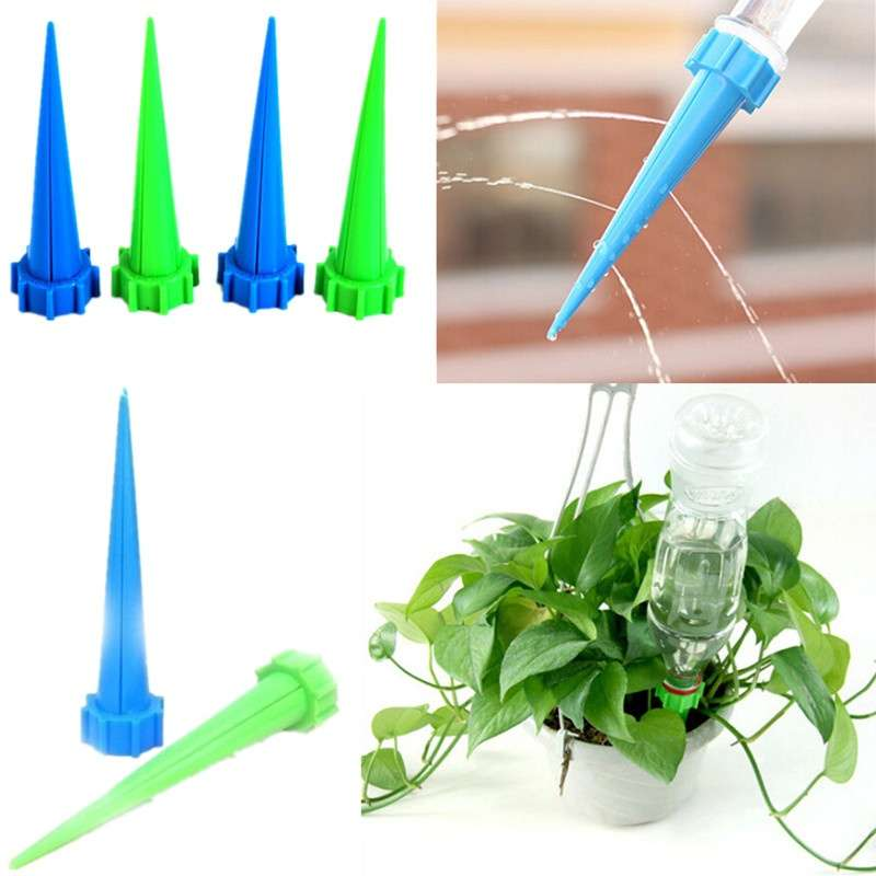 Hot Garden Cone Spike Watering Plant Flower Waterers Bottle Irrigation System WIXI
