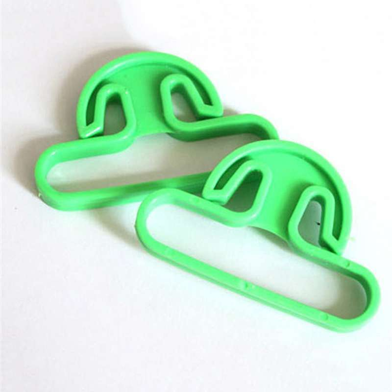 2 pcs Sale Carry Food Machine Handle Carry Bag Hanging Ring Shopping Helper Plastic-4