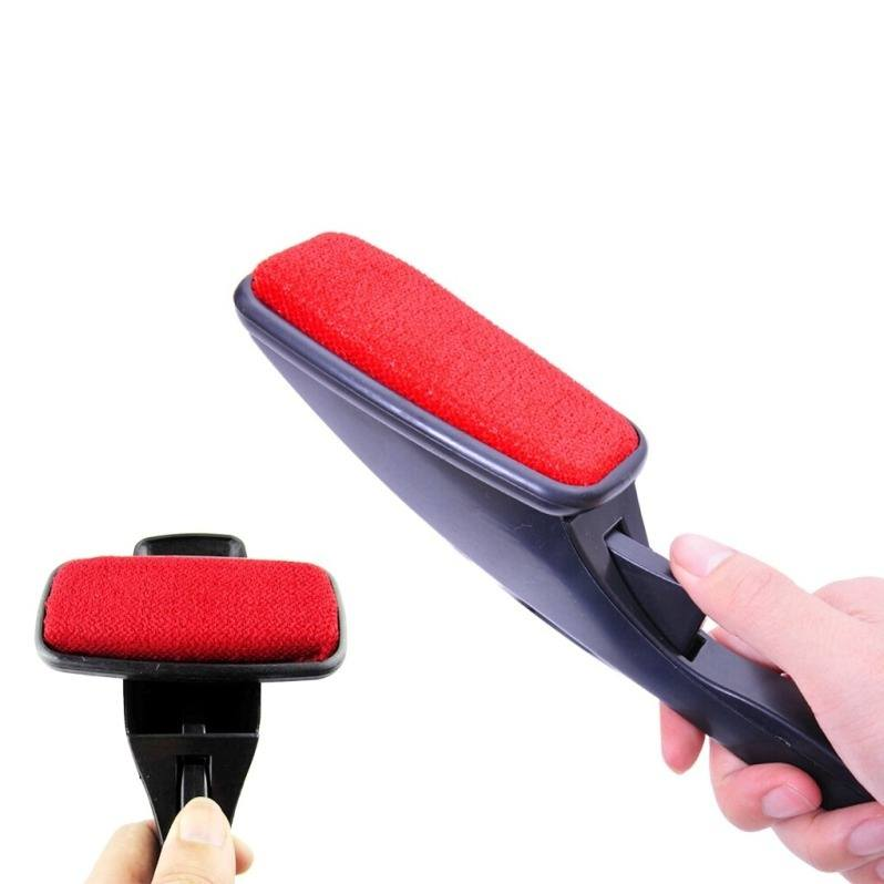 Hair Fabric Remover static 360-degree rotating pet Magic Lint Brush Pet Hair Remover clothes carpet sofa dust brush