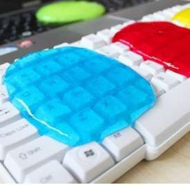 Brand high quality Magic Innovative Super Dust Clean High Tech Keyboard Cleaning Compound Gel-2