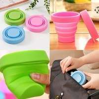 HEPR-Portable Silicone Telescopic Drinking Collapsible Folding Cup Travel Camping