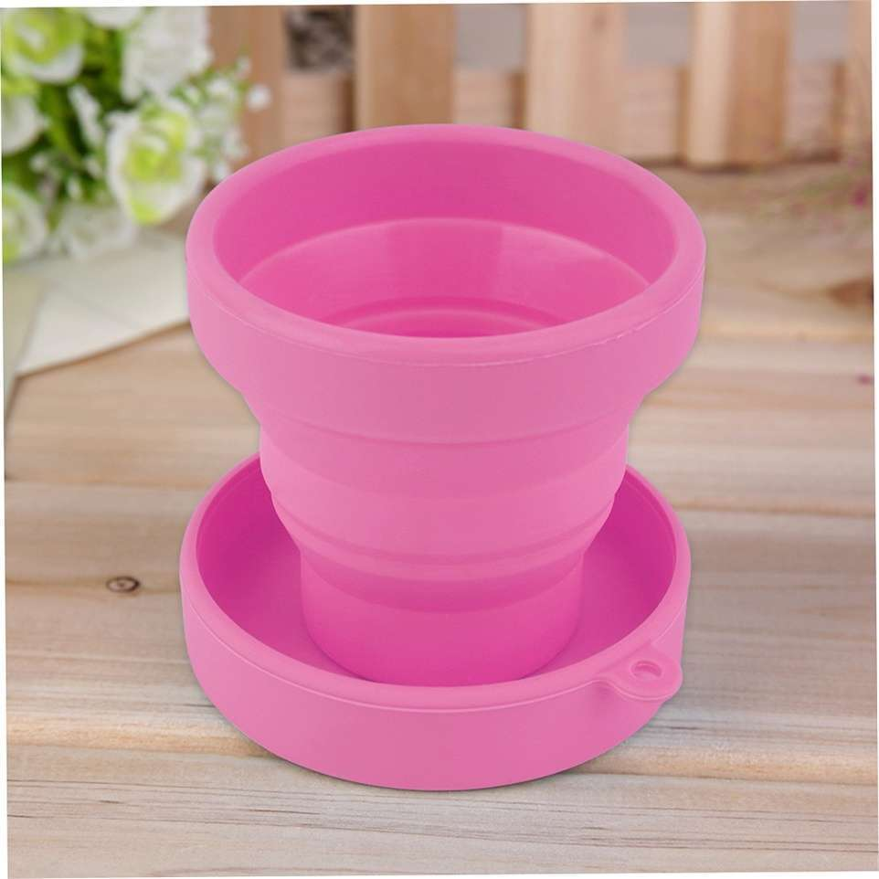 Portable Silicone Telescopic Drinking Collapsible Folding Cup Travel Camping-12