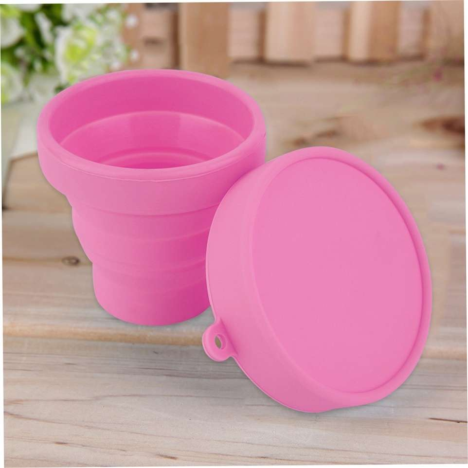 Portable Silicone Telescopic Drinking Collapsible Folding Cup Travel Camping-13