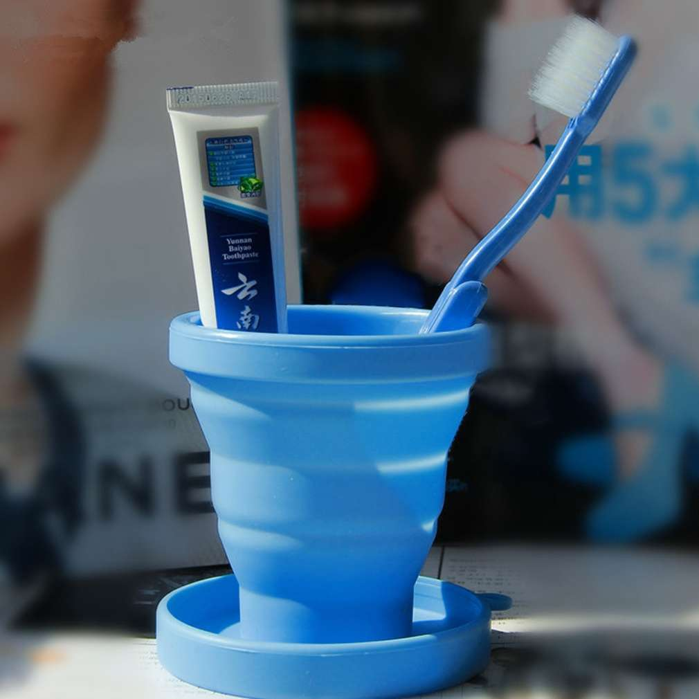 Portable Silicone Telescopic Drinking Collapsible Folding Cup Travel Camping-17