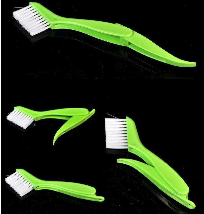2 in 1 Multipurpose Window Groove Cleaning Brush Nook Cranny Household Keyboard Home Kitchen Folding Brush Cleaning Tool-11