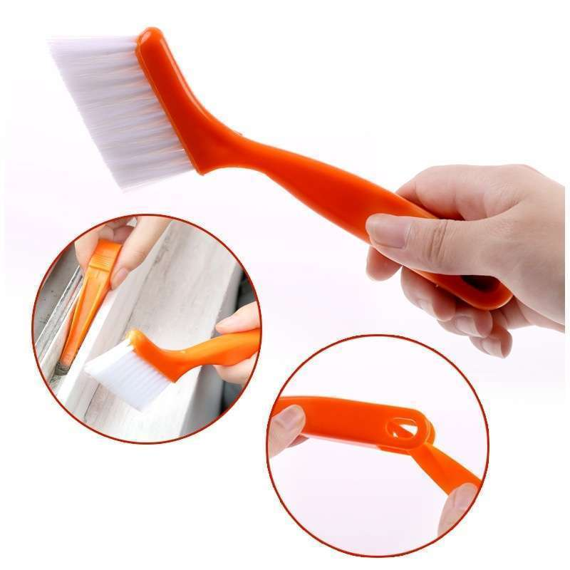 2 in 1 Multipurpose Window Groove Cleaning Brush Nook Cranny Household Keyboard Home Kitchen Folding Brush Cleaning Tool-4