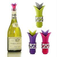 HiVe-Wine Bottle Stoppers Food Grade Silicone Sustainable Wine Pourer Bar Tools