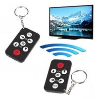HqpM-Pocket Mini Universal Infrared IR TV Remote Control Controller Key Chain