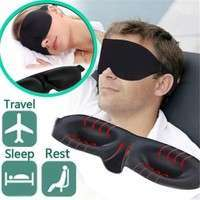 HwmL-New Eye Mask Shade Nap Cover Blindfold Sleeping Eye Shade Blinder Eye Patch Sleep Goggles For Travel