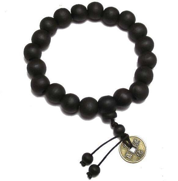 New Wood Buddha Buddhist Prayer Beads Tibet Bracelet Mala Bangle Wrist Ornament-3