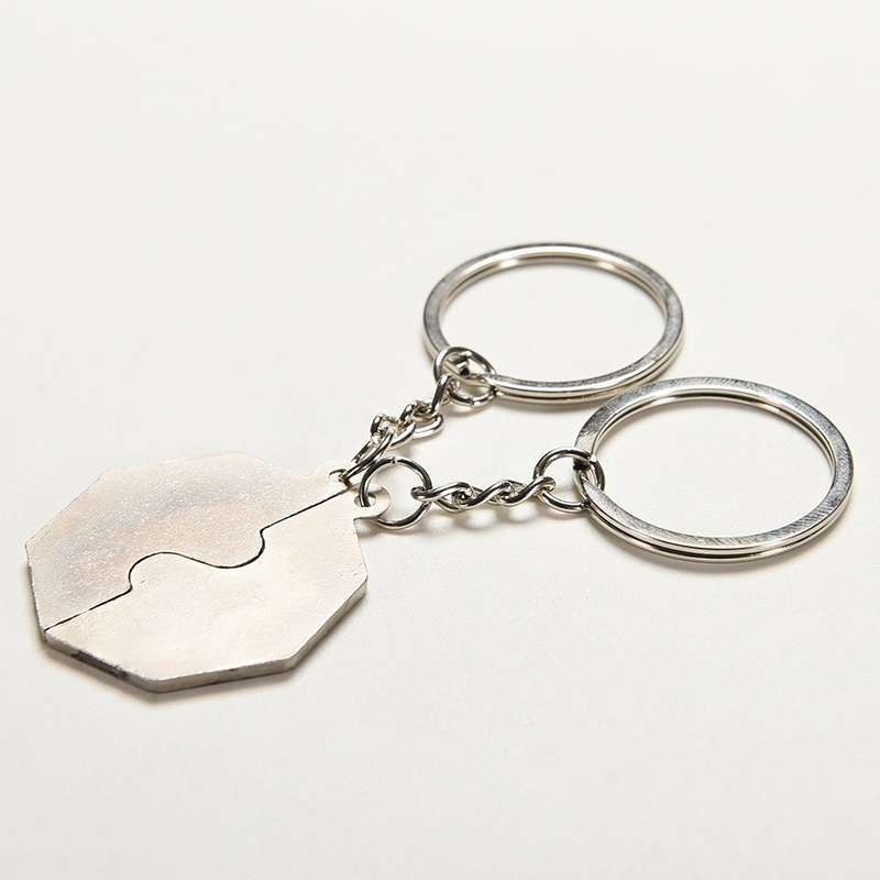 Chinese Style Gift Taoist Religion Tai Chi Keychain Couple Love Keyring Jewellery.Garden-5