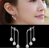 JWPm-Accessories Earrings Multi Tassel Pearl Earrings