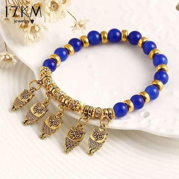Brand Fashion Summer Style Good Luck Owl Bracelet Charm Beads Bracelets Trendy Clic Fine Jewelry Women
