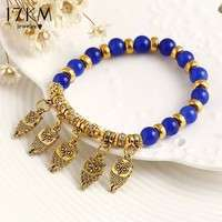 JoyW-Brand Fashion Summer Style Good Luck Owl Bracelet Charm Beads Bracelets Trendy Classic Fine Jewelry Women