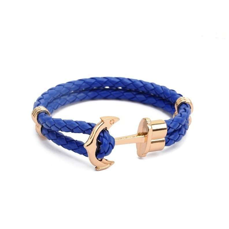 Anchor Shop New Fashion Jewelry Pu Leather Bracelet Men Anchor Bracelets for Women Best Friend Gift Summer Style Pulseira ZT4011 Anchor Shop-3