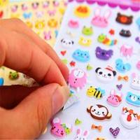 KI1p-Creative Cartoon Stereo Bubble Stickers Wholesale Stationery Stickers Affixed Mobile Phone Personality (2pcs)