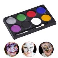 KIls-Make Up Face Paint Palette Fun Halloween Fancy Painting Kit Set