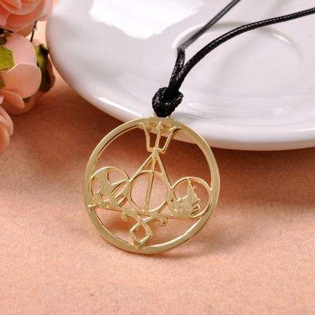 Classic jewelry The Mortal Instruments Hunger Games Divergent Percy Jackson Divergent Percy collection necklace-1