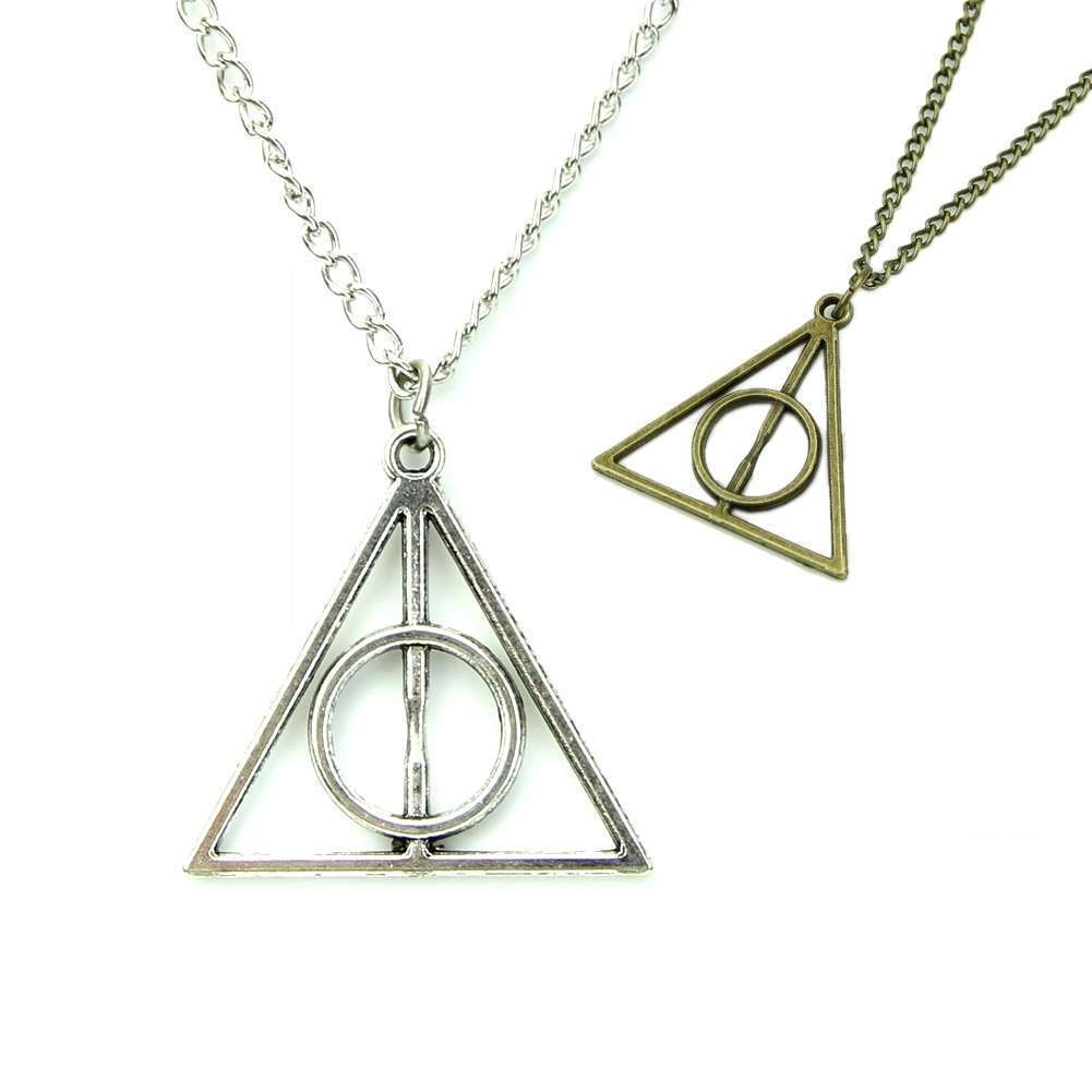 Film Movie Harry Potter-Deathly Hallows Metal Necklace Pendant As Gifts