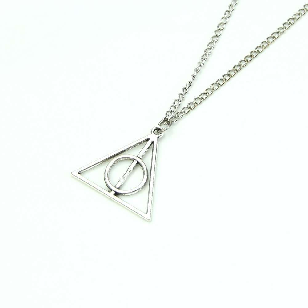 Film Movie Harry Potter-Deathly Hallows Metal Necklace Pendant As Gifts-1