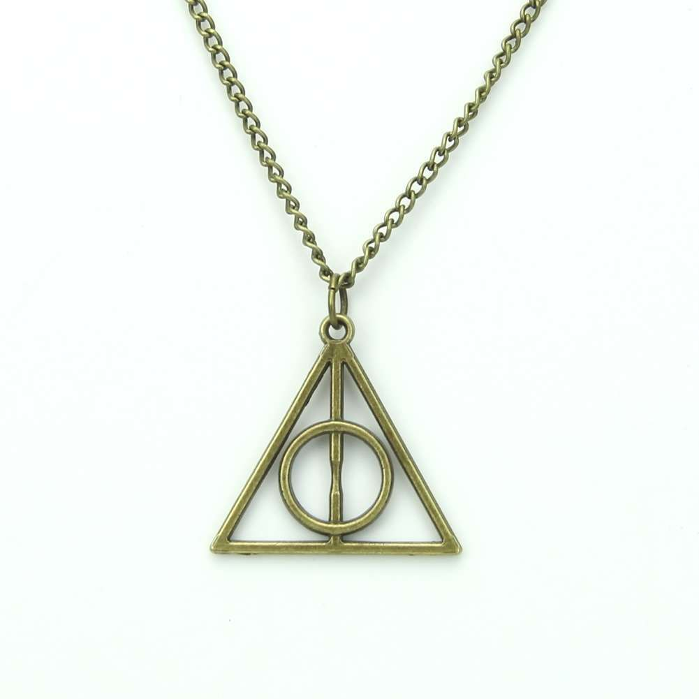 Film Movie Harry Potter-Deathly Hallows Metal Necklace Pendant As Gifts-2