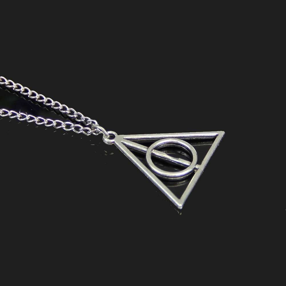 Film Movie Harry Potter-Deathly Hallows Metal Necklace Pendant As Gifts-3